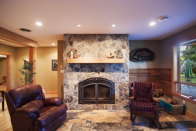 Fire Place in Family Room