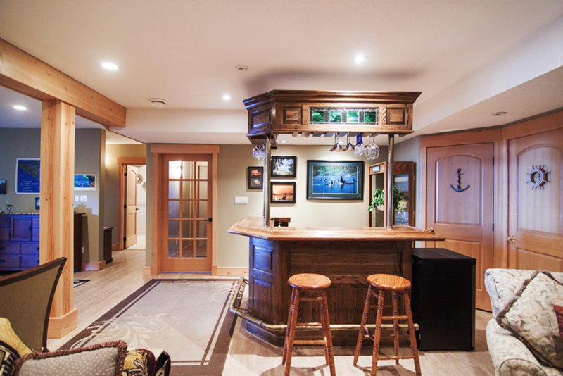 Bar in Rec Room