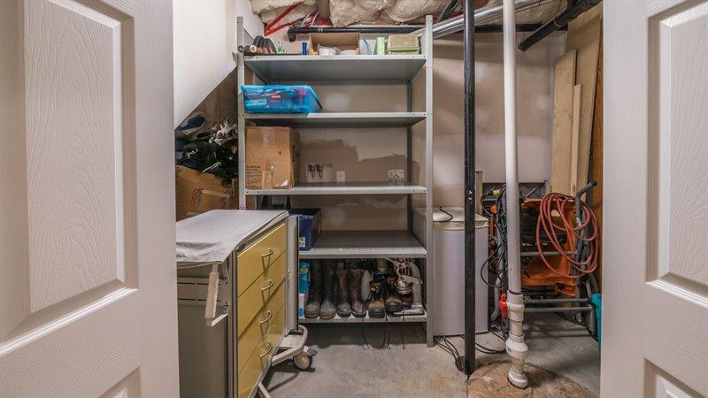 Lower Level - Storage Room